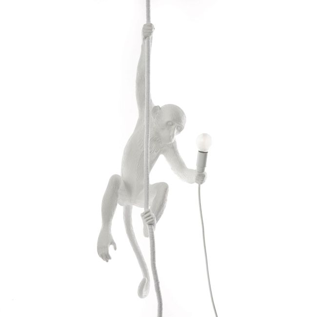 Monkey Pendant Lamp  by Seletti