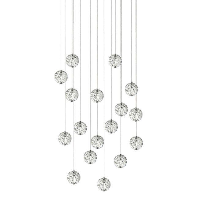 Bubble Ball 17 Light Linear LED Pendant  by PureEdge Lighting