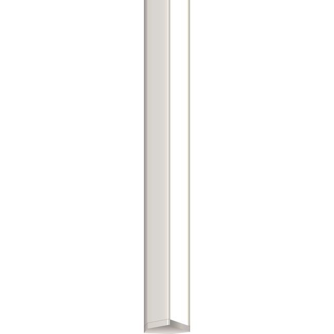Audrey 24V Tunable White Square Canopy Vanity by PureEdge Lighting | AV2-4SQ-12IN-2K4K-SN