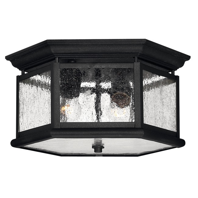 Edgewater Outdoor Ceiling Light Fixture by Hinkley Lighting | 1683BK