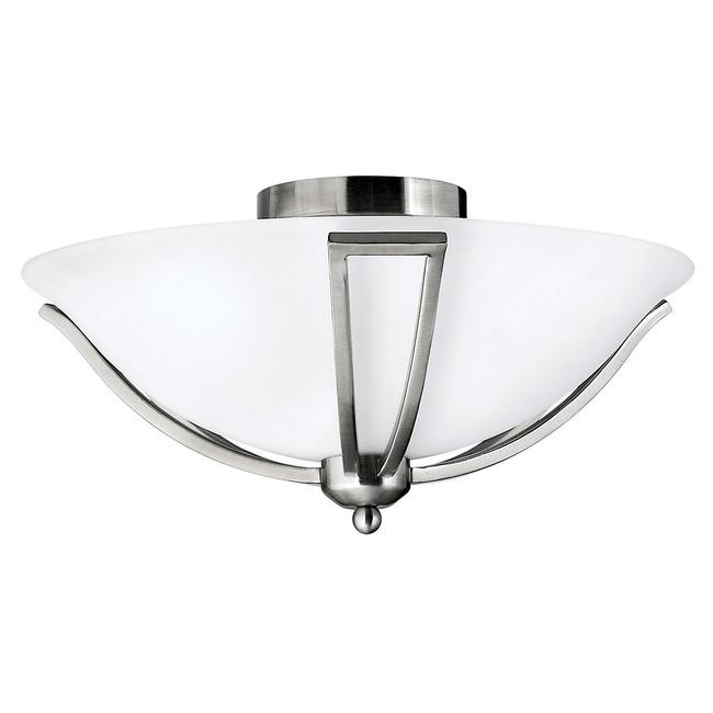 Bolla 4660 Semi Flush Ceiling Light by Hinkley Lighting | 4660BN