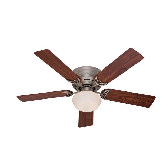 Low Profile III Plus Ceiling Fan with Light  by Hunter Fan