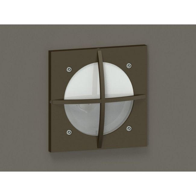 HL-220 BDS Steplight With Square Cross Guard  by Hevi Lite | HL-220-BZ-50-12