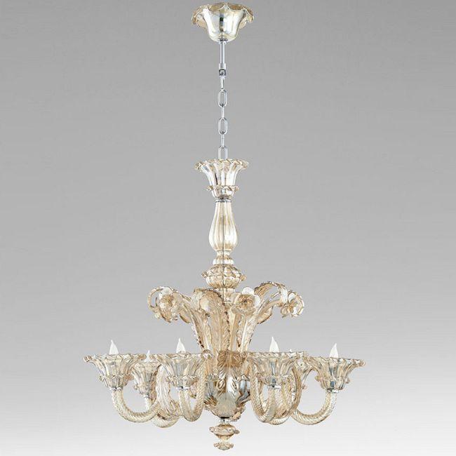 La Scala 6 Light Chandelier  by Cyan Designs