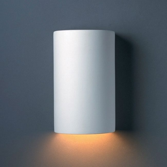 Cylinder Downlight Wall Sconce  by Justice Design