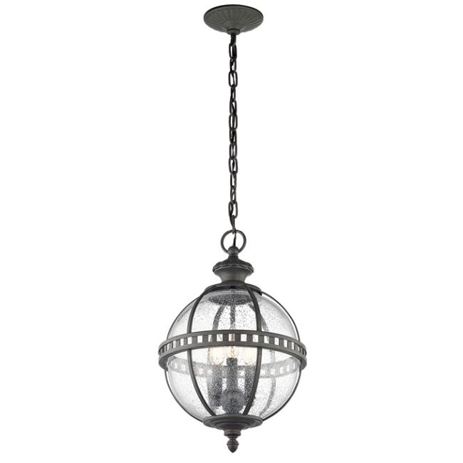 Halleron Outdoor Pendant  by Kichler
