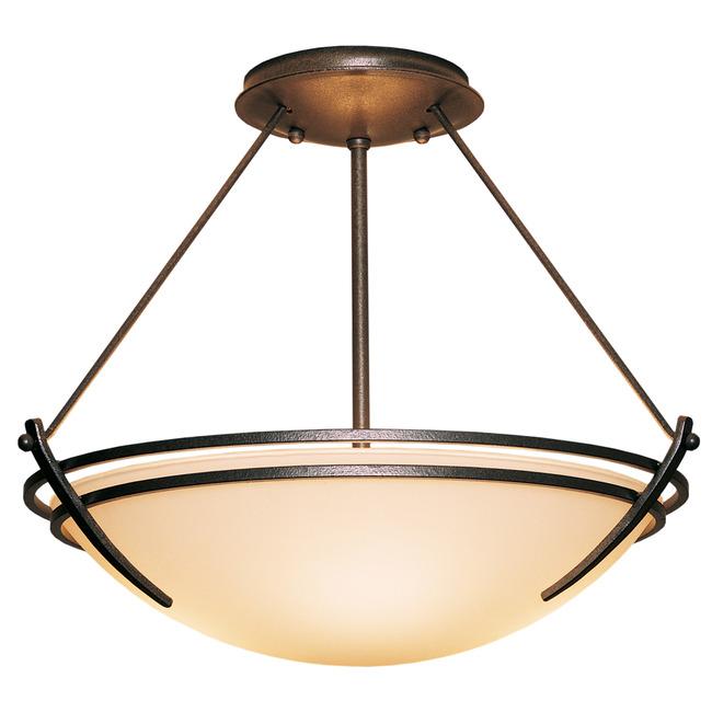 Presidio Tryne Semi Flush Ceiling Light by Hubbardton Forge | 124432-1002