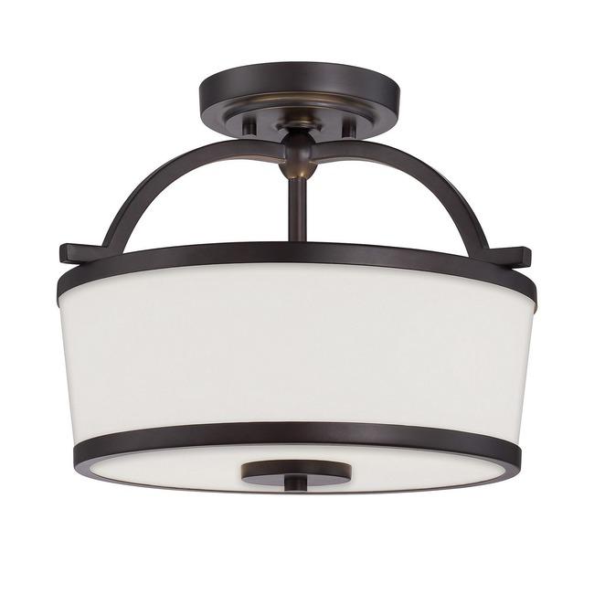 Hagen Semi Flush Ceiling Light  by Savoy House