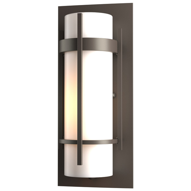 Banded Small Outdoor Wall Light by Hubbardton Forge | 305892-1024