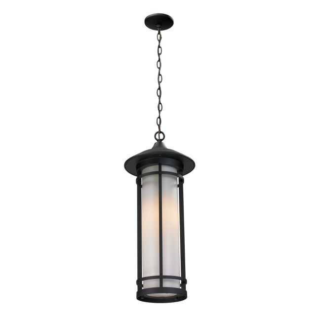 Woodland Long Outdoor Pendant  by Z-Lite