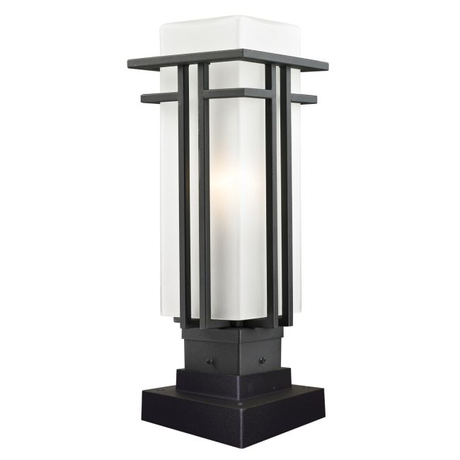 Abbey Square Outdoor Pier Mount  by Z-Lite