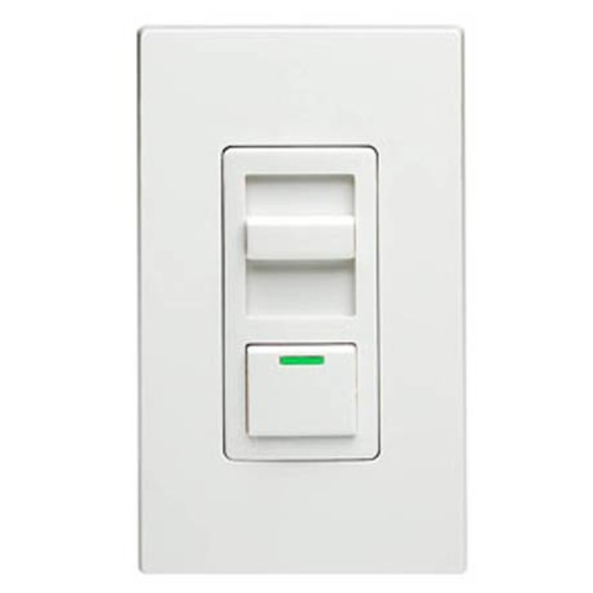 IllumaTech Electronic 0-10V Fluorescent/LED Dimmer by Leviton | IP710-DLZ