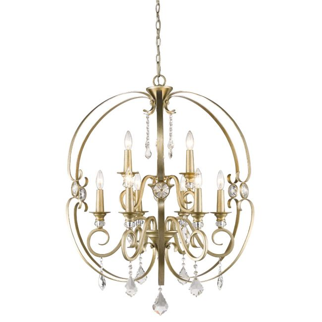 Ella Chandelier  by Golden Lighting