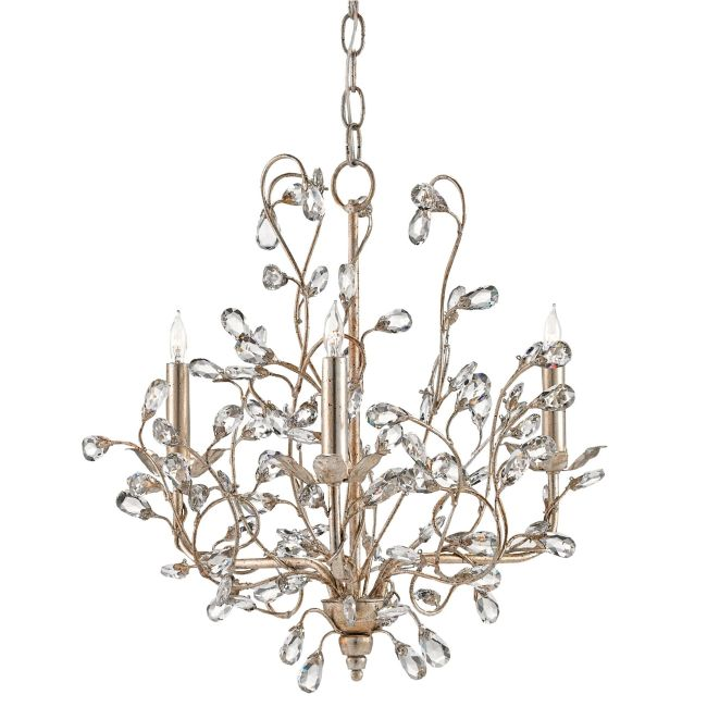 Crystal Bud Chandelier  by Currey and Company