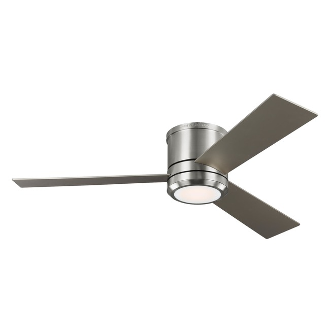 Clarity Max Hugger Ceiling Fan with Light  by Monte Carlo
