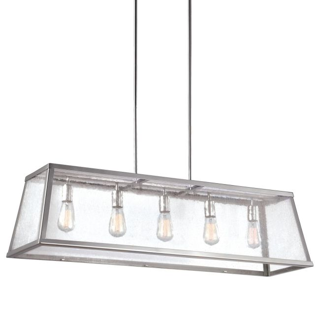 Harrow Linear Chandelier  by Feiss