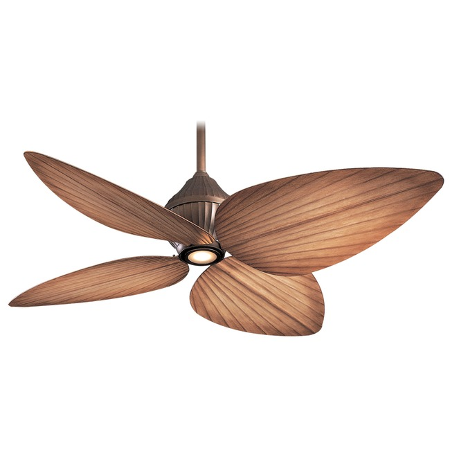 Gaugain Indoor / Outdoor Ceiling Fan with Light  by Minka Aire