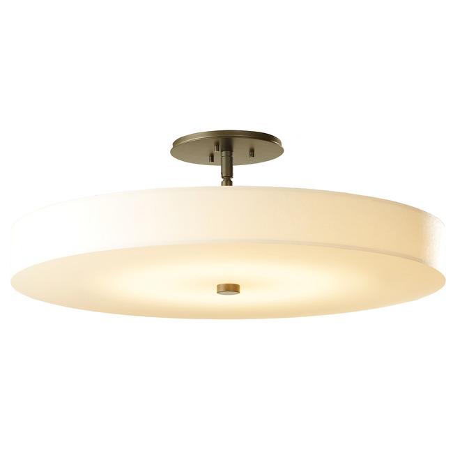Disq Semi Flush Ceiling Light  by Hubbardton Forge