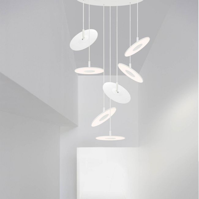 Circa Chandelier with Large Pendants  by Pablo