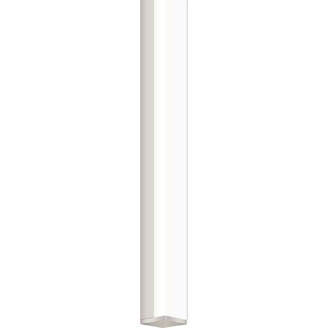 Twiggy S1 Bath Bar w/ 1 Inch Rectangle Canopy  by PureEdge Lighting
