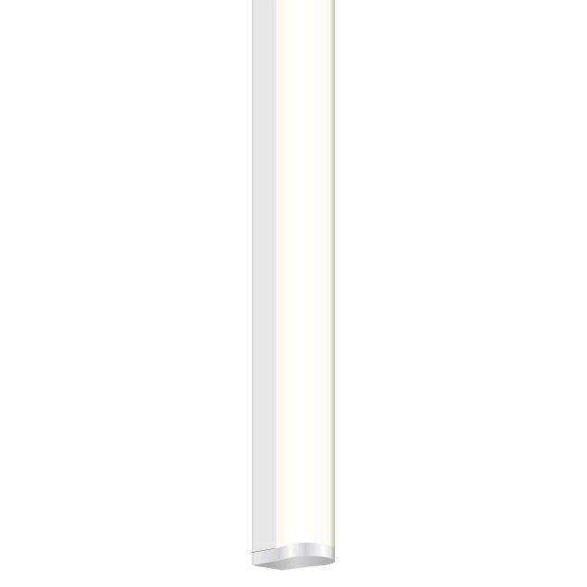 Twiggy T1 Bath Bar w/ 1 Inch Rectangle Canopy  by PureEdge Lighting