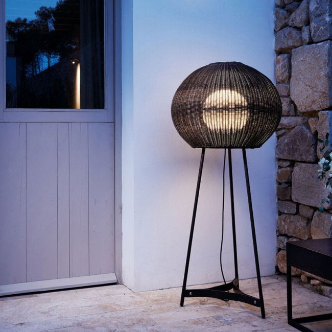 Garota Tall Outdoor Floor Lamp  by Bover