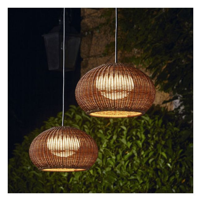Garota Outdoor Plug In Pendant  by Bover