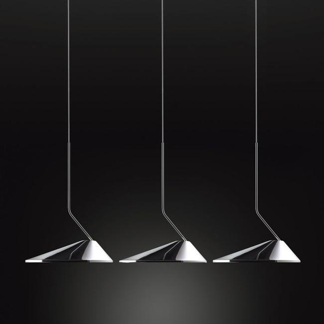 Non La Rectangle Multi Light Pendant  by Bover