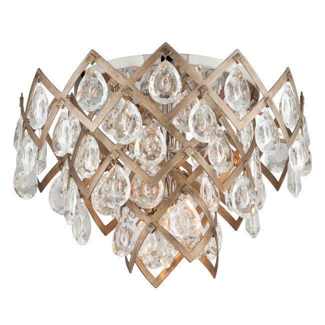 Tiara Semi Flush Ceiling Light  by Corbett Lighting