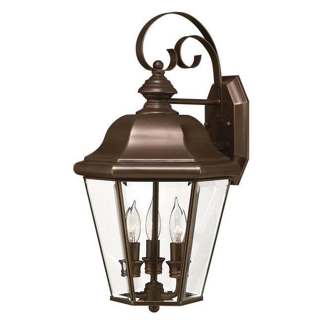 Clifton Park 3 Light Outdoor Wall Light  by Hinkley Lighting