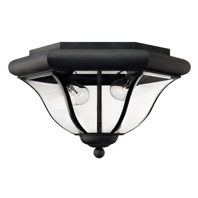 San Clemente Museum Black Outdoor Ceiling Light Fixture  by Hinkley Lighting
