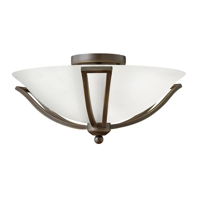 Bolla LED 4660 Semi Flush Ceiling Light  by Hinkley Lighting