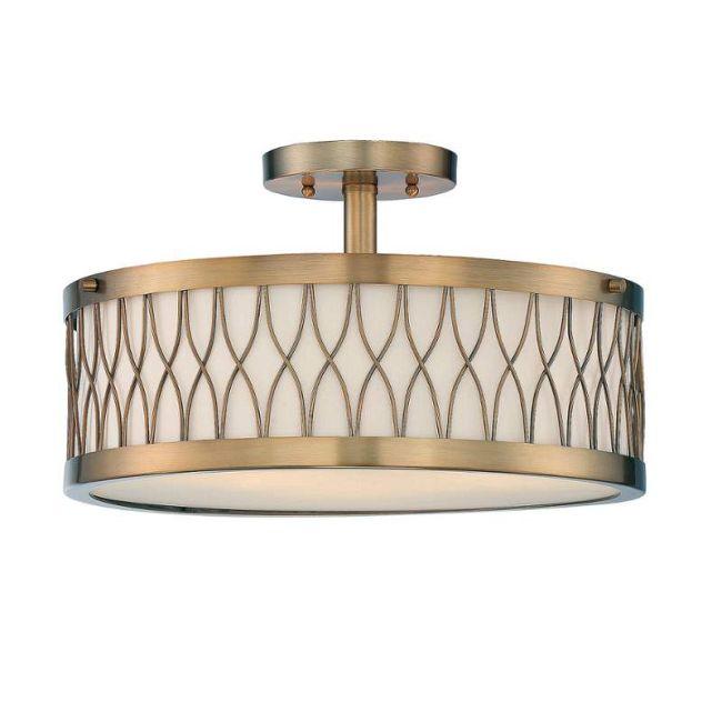 Spinnaker Ceiling Semi-Flush Light  by Savoy House