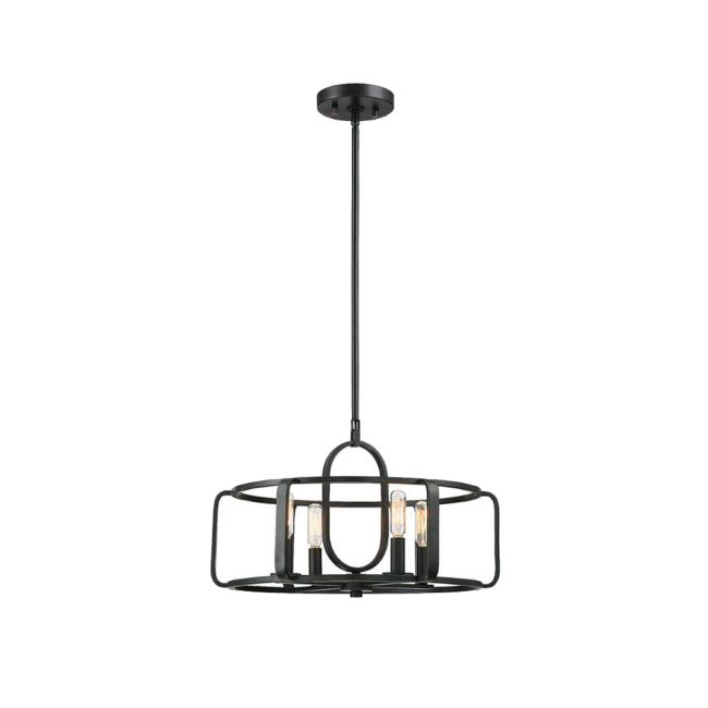 Santina Convertible Semi-Flush Pendant  by Savoy House