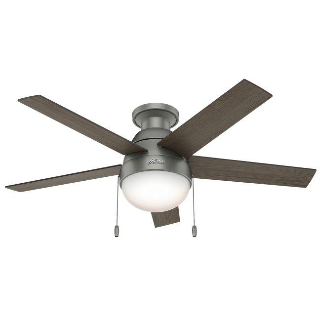 Modern Ceiling Fan with Light  by Hunter Fan