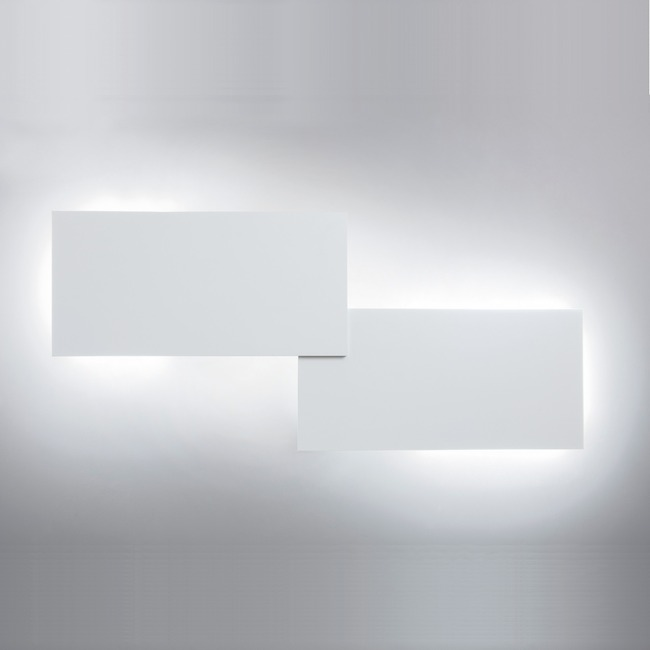 Puzzle Double Rectangle Wall / Ceiling Flush Light by Studio Italia Design  by LODES