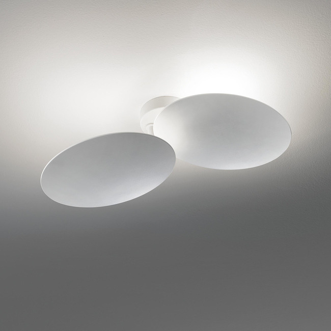 Puzzle Double Round Wall / Ceiling Light  by LODES