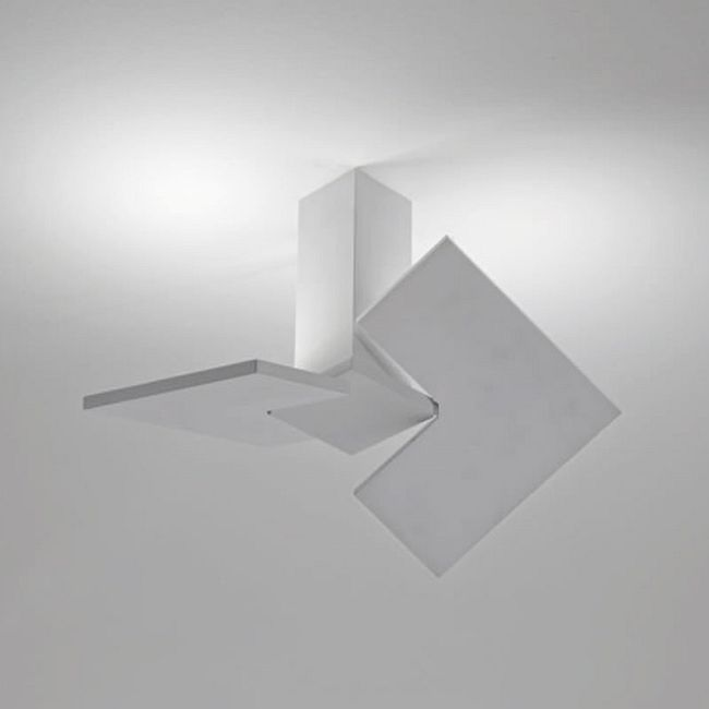 Puzzle Twist Ceiling Semi Flush Light by Studio Italia Design  by LODES