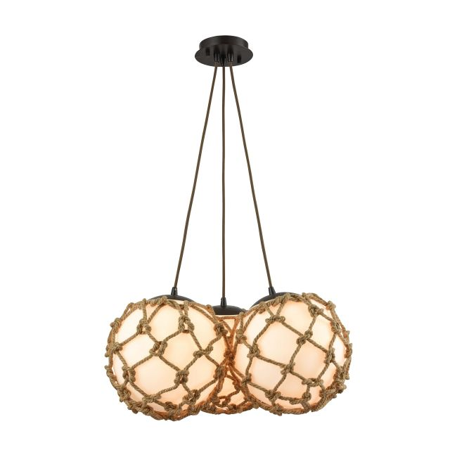 Coastal Inlet Multi Light Pendant  by Elk Lighting