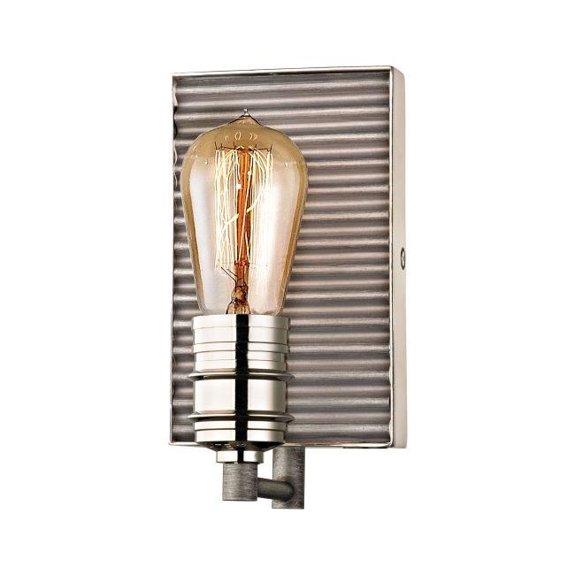Corrugated Bathroom Vanity Light  by Elk Lighting