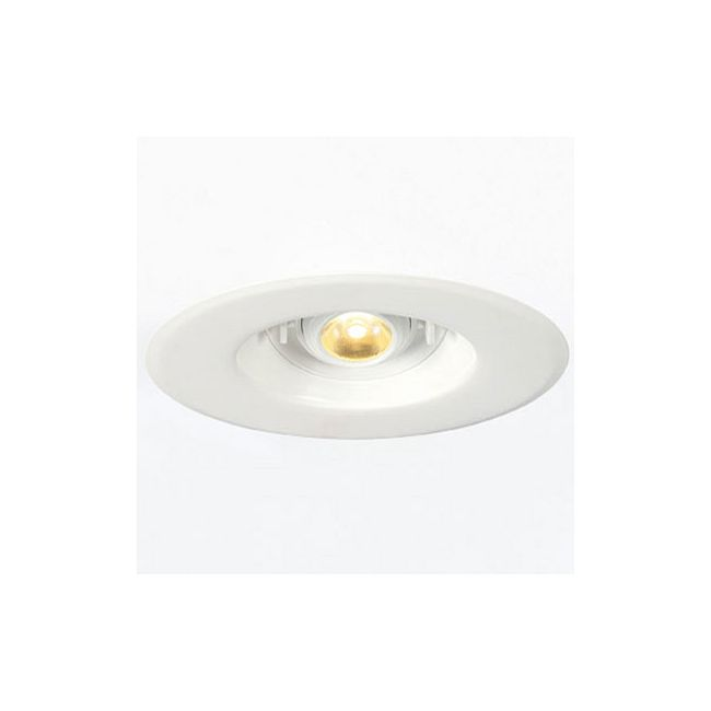 6 inch led adjustable retrofit downlight by element by tech lighting er6a lh927ww