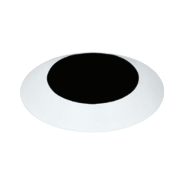 4 Inch Round Flangeless Bevel Trim by Element by Tech Lighting | E4RLB-OW