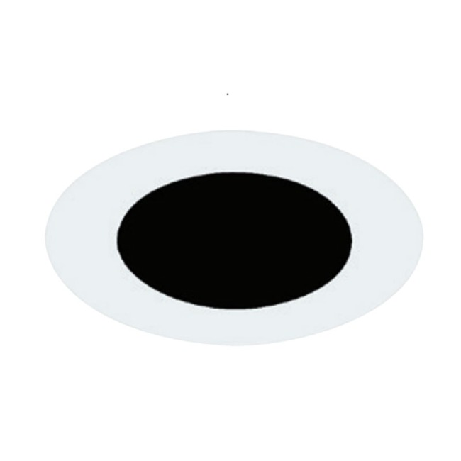 4 Inch Round Flangeless Flat Trim  by Element by Tech Lighting