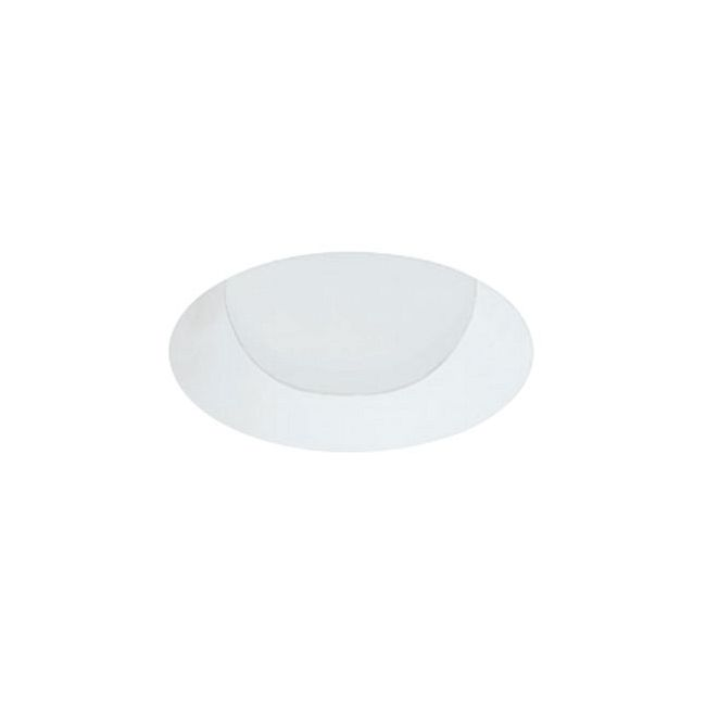 4 Inch Round Flangeless Lensed Wall Wash Trim by Element by Tech Lighting | E4RLW-W