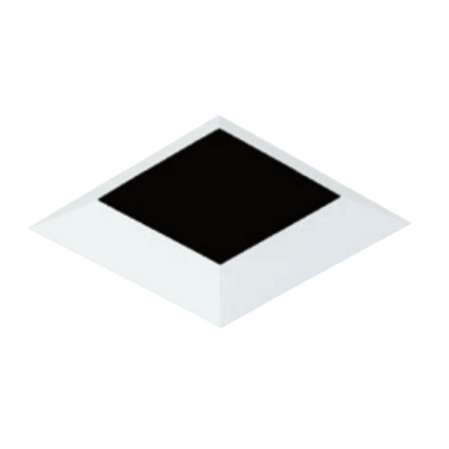 4 Inch Square Flangeless Bevel Trim  by Element by Tech Lighting