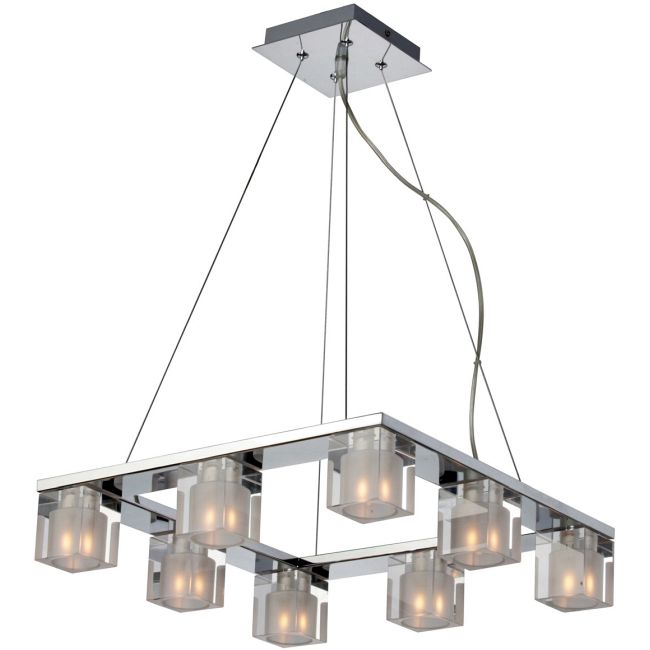 Blocs 8 Light Square Suspension by Et2 | E22037-18