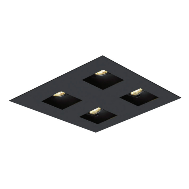 2X2 Square on Square Flanged Trim  by Element by Tech Lighting | EMT22SFF-B