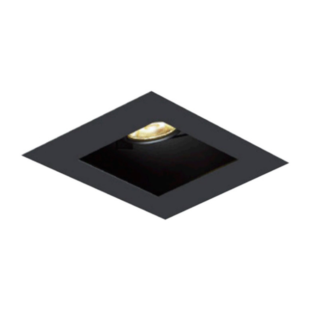 1X1 Square on Square Flangeless Trim  by Element by Tech Lighting | EMT11SLF-B