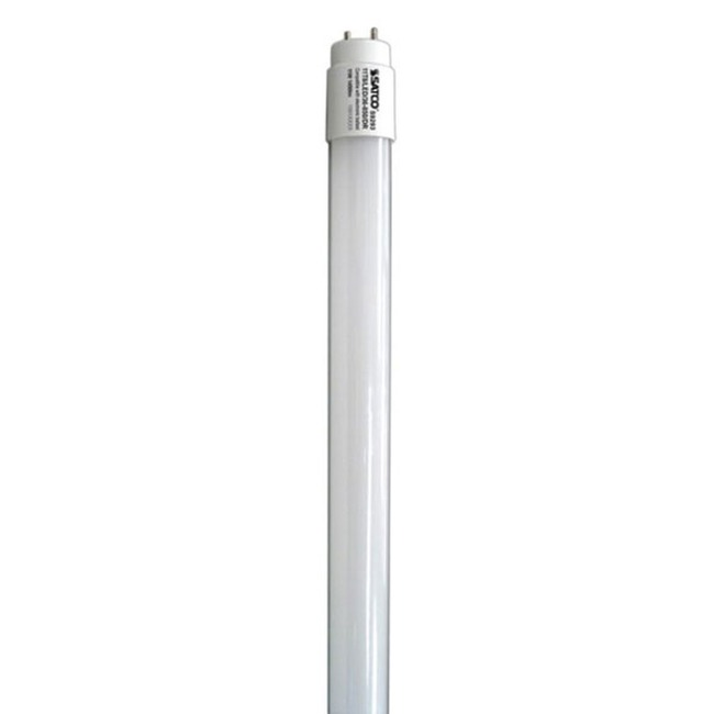 T8 Bi-Pin Linear LED 17W 120V 3000K 82CRI 48 Inch  by Satco