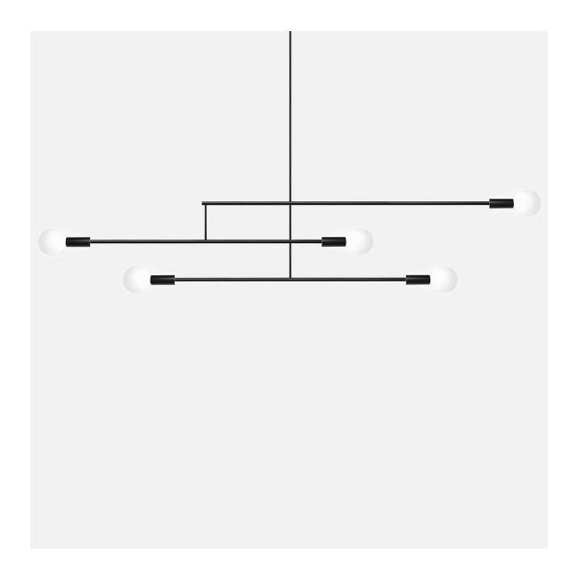 Big Mobile Chandelier by Andrew Neyer | BML-3-BLK
